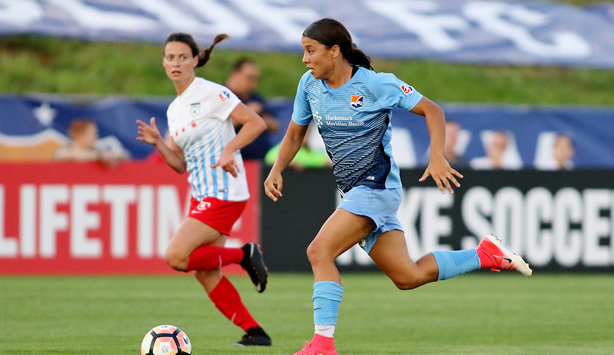 90th Minute Equalizer by Sam Kerr Completes Another Dramatic Sky Blue FC Finish