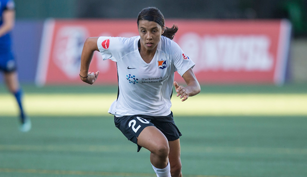 Sam Kerr Named to NWSL Team of the Month
