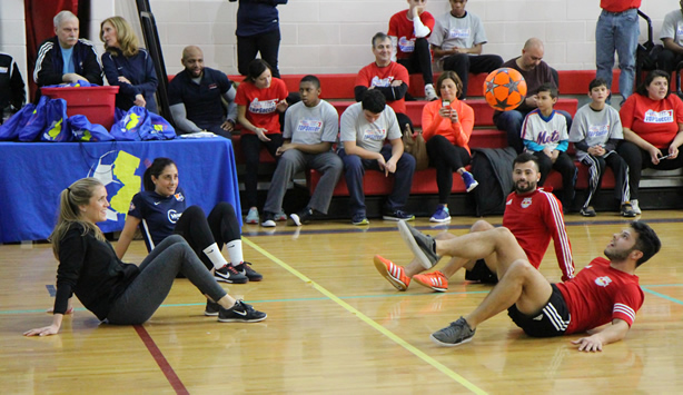 Sky Blue FC Supports NJ Youth Soccer's TOPSoccer Program