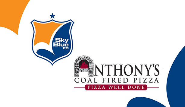 Sky Blue FC Partners with Anthony's Coal Fired Pizza