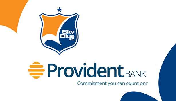 Sky Blue FC Renews Partnership with Provident Bank