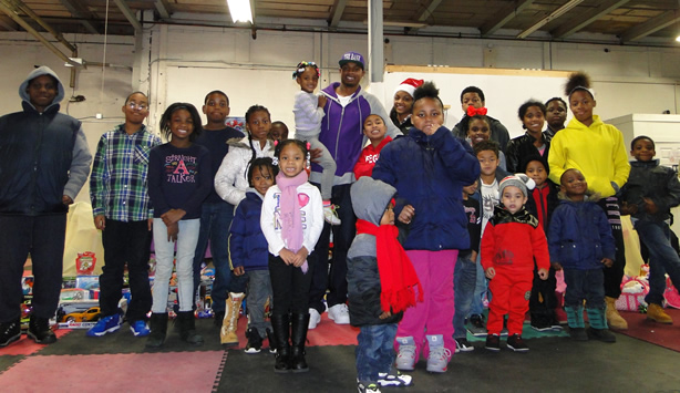 Derrick Webster Hosts 1st Annual Toy Drive in Camden