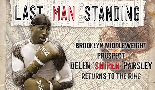 Brooklyn Native Delen Parsley Featured on May 15th Show by Uprising Promotions