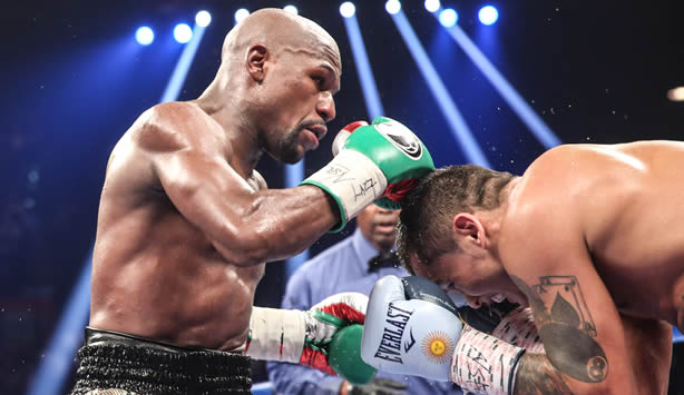 Floyd Mayweather Remains Perfect with Rematch Win Over Marcos Maidana