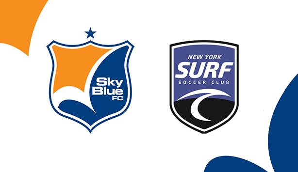 Sky Blue FC and NY Surf Announce Club Partnership