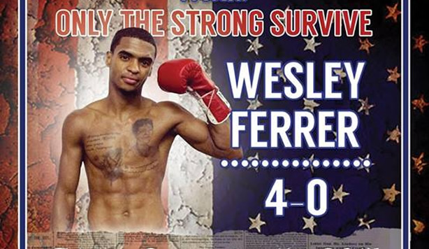 Meet the Fighter: Lightweight Wesley Ferrer